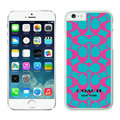 Luxury Coach Covers Hard Back Cases Protective Shell Skin for iPhone 6S Plus 5.5 Pink - White