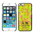 Plastic Coach Covers Hard Back Cases Protective Shell Skin for iPhone 6S Plus 5.5 Yellow - Black