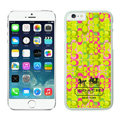 Plastic Coach Covers Hard Back Cases Protective Shell Skin for iPhone 6S Plus 5.5 Yellow - White