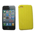s-mak Silicone Cases covers for iPhone 7 Plus - Yellow