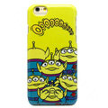 Brand Alien Covers Plastic Back Cases Cartoon Cute for iPhone 7S - Yellow