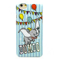 Brand Dumbo Covers Plastic Back Cases Cartoon Cute for iPhone 7S - Blue
