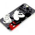 Cartoon Cover Disney Minnie Mouse Silicone Cases Shell for iPhone 7S - Black