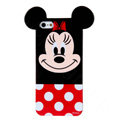 Cute Minnie Mouse Covers Hard Back Cases Disney Shell for iPhone 7S - Red