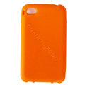 s-mak Color covers Silicone Cases For iPhone 7S - Orange