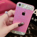 Classic Swarovski Bling Rhinestone Case Diamond Cover for iPhone 8 - Rose