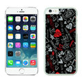 Heart Coach Covers Hard Back Cases Protective Shell Skin for iPhone 8 Black - White