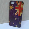 Retro Australia flag Hard Back Cases Covers Skin for iPhone 8