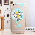 TPU Cover Disney Donald Duck Silicone Case Minnie for iPhone 8 - Transparent
