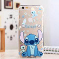 TPU Cover Disney Stitch Silicone Case Minnie for iPhone 8 - Transparent