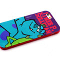 Cartoon Cover James P. Sullivan Silicone Cases Skin for iPhone 8 Plus - Blue