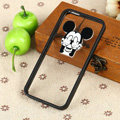 TPU Cover Disney Mickey Mouse Thumb Silicone Case Skin for iPhone 8 Plus - Black