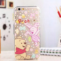 TPU Cover Disney Winnie the Pooh Silicone Case Piglet for iPhone 8 Plus - Transparent