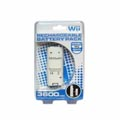 3600mAh Rechargeable Battery with Cable Pack White for Wii