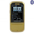 3Q Dual-band Dual SIM Card Phone with Bluetooth Function - Golden