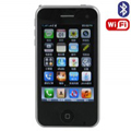 598 Dual SIM Card Phone with WIFI & TV & Bluetooth Function - Black