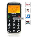 AMOR L88 Quad Band Large Keys FM Radio MP3 Player Special for Senior Citizens China Phone-Black