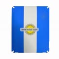 Agentina National Flag Style Frosted Protection Back Case Skin Cover for Apple iPad