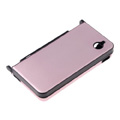 Aluminum Metal Hard Case Cover For Nintendo NDSi XL/LL-Pink Red