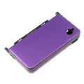 Aluminum Metal Hard Case Cover For Nintendo NDSi XL/LL -Purple violet