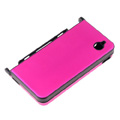 Aluminum Metal Hard Case Cover For Nintendo NDSi XL/LL-Rose-red