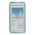 Clear TPU Case for Nokia N8 Mobile Phone-Blue