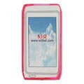 Clear TPU Case for Nokia N8 Mobile Phone-Rose