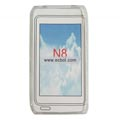 Clear TPU Case for Nokia N8 Mobile Phone-White