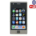 Daxian666 Dual SIM Card Phone with WIFI & TV & Bluetooth Function - Silver