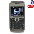 E71 Dual SIM Card Phone with WIFI & TV & Bluetooth Function - Black