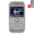 E71 Dual SIM Card Phone with WIFI & TV & Bluetooth Function - White