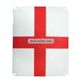 England National Flag Style Frosted Protection Back Case Skin Cover for Apple iPad