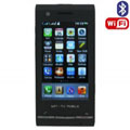 H801 Dual SIM Card Phone with WIFI & TV & Bluetooth Function - Black