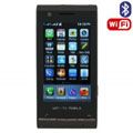 H801 Dual SIM Card Phone with WIFI & TV & Bluetooth Function - Brown
