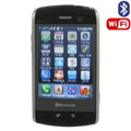 H806 Dual SIM Card Phone with WIFI & TV & Bluetooth Function - Brown