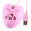 Hello Kitty-Shaped USB 1200dpi Optical Mouse