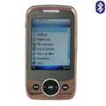N600 Dual SIM Card Phone with Bluetooth Function - Golden