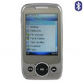 N600 Dual SIM Card Phone with Bluetooth Function - Silver