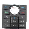 Nokia N90 Original Keypad Black
