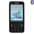 PO18 Dual SIM Card Phone with TV & Bluetooth Function - Black