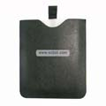 PU Crosspattern Soft Leather Sleeve Case with Cord for Apple iPad-Black