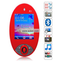 R1 Quad Band Dual Cards Bluetooth Camera Touch Screen China Phone - Red