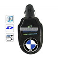 Remote Control BMW Car MP3 Player with SD Card Slot-Black