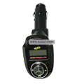 Remote Control Benz Car MP3 Player with SD Card Slot & On-Off Key - Black