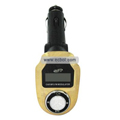 Remote Control Benz Car MP3 Player with SD Card Slot & On-Off Key - Golden