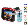 Solam 1.8 Inch TFT Color Screen Car MP4 Player (2GB) - sl-998 (Red)