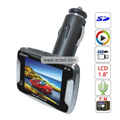 Solam 1.8 Inch TFT Color Screen Wireless Car MP5 Player (2GB) - sl-988 (Silver)