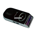 Solar Bluetooth Handsfree Car Kit With LCM Display - GZSBT03