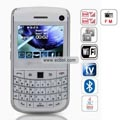 WANK 9700++ Quad Band Dual Cards Dual Cameras WiFi Color TV Bluetooth Java China Phone-White