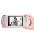 JXD300 3.0 inch MP5 Player with 2.0MP Camera and TV-out (4GB) - Pink